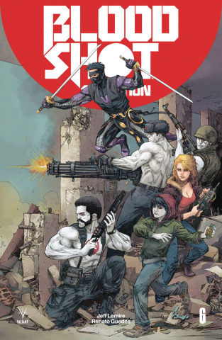 Bloodshot: Salvation #6 (Rocafort Cover)