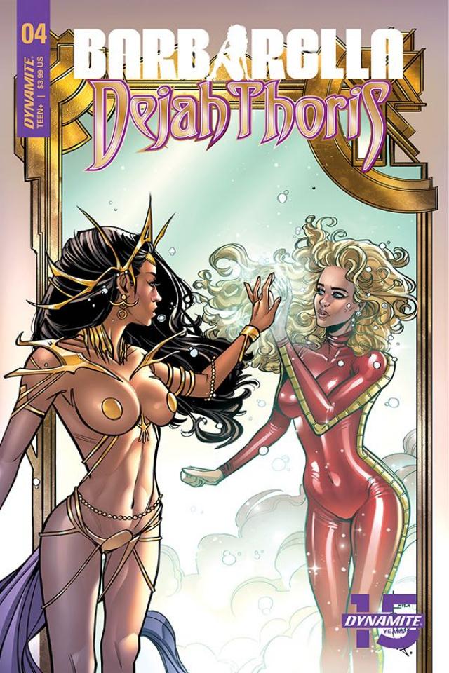 Barbarella / Dejah Thoris #4 (Braga Cover)