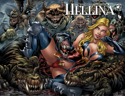 Hellina #3 (Wrap Cover)