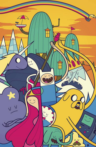 Adventure Time #36 (Subscription Giorini Cover)