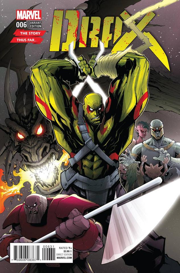 Drax #6 (Veregge Story Thus Far Cover)