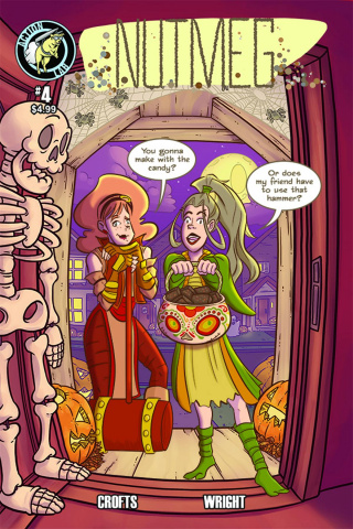Nutmeg #4 (Halloween Cover)