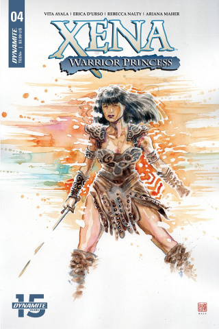 Xena: Warrior Princess #4 (Mack Cover)