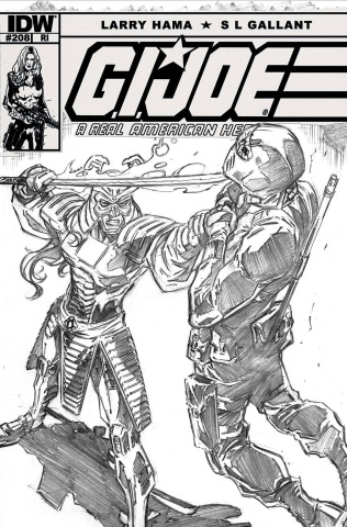 G.I. Joe: A Real American Hero #208 (10 Copy Cover)
