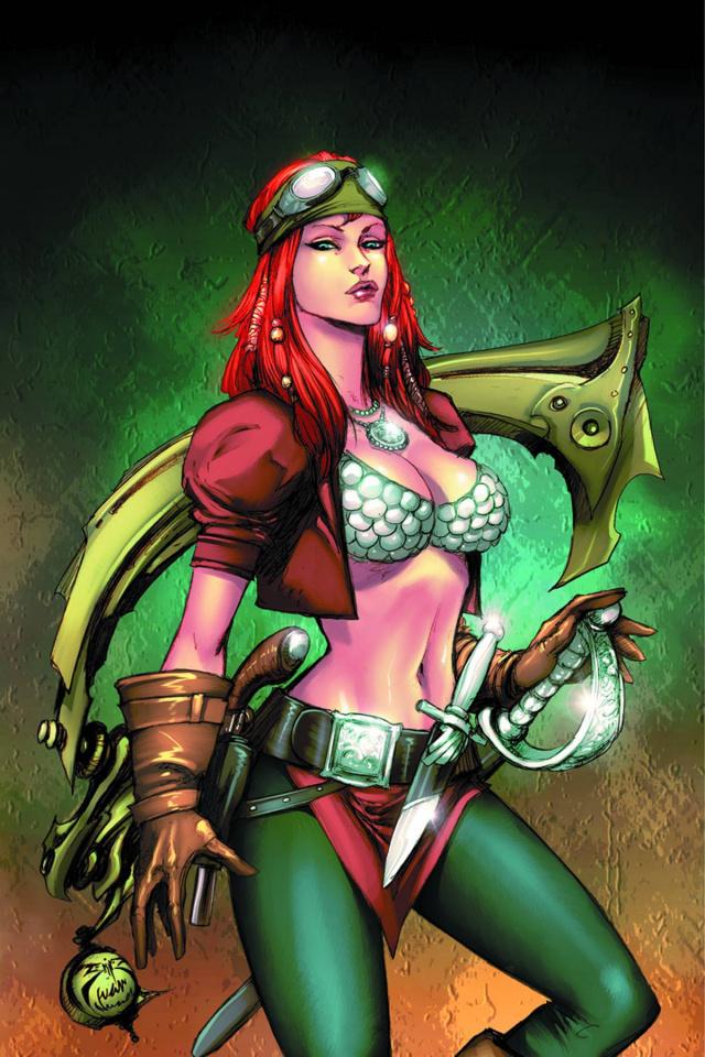 Legenderry: A Steampunk Adventure #6 (Benitez Virgin Cover)