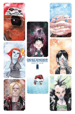 Descender #30 (Li'l Robot Nguyen Cover)