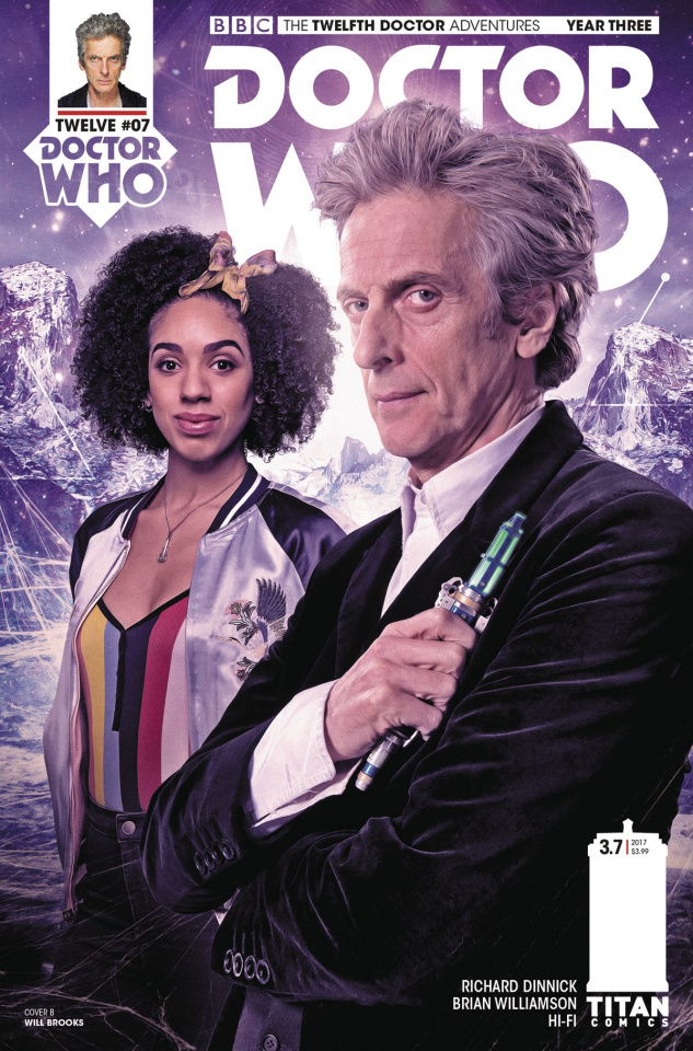 Doctor Who: New Adventures with the Twelfth Doctor, Year Three #7 (Brooks Cover)