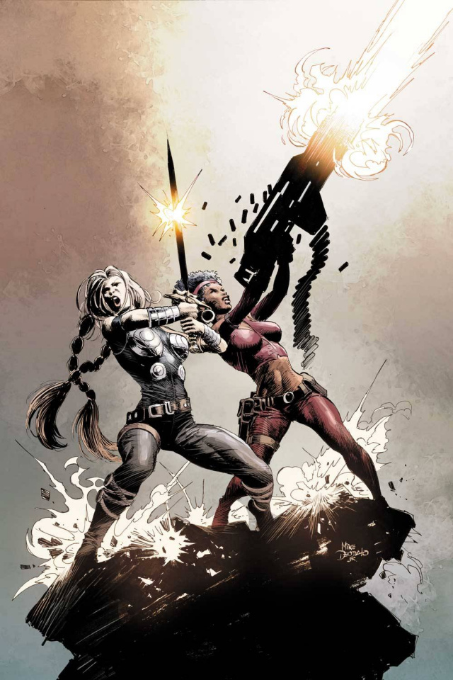 The Fearless Defenders #1 (Deodato Cover)