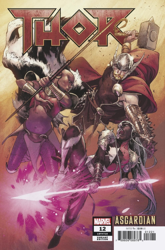Thor #12 (Coipel Asgardian Cover)