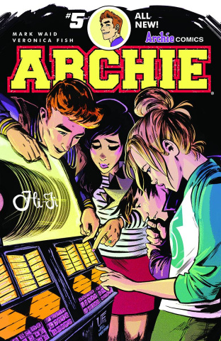 Archie #5 (Veronica Fish Cover)