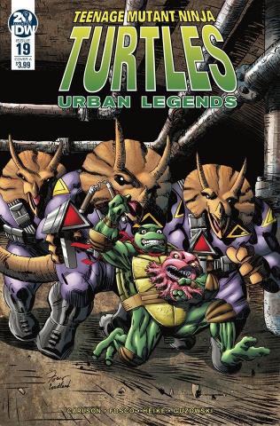 Teenage Mutant Ninja Turtles: Urban Legends #19 (Fosco Cover)