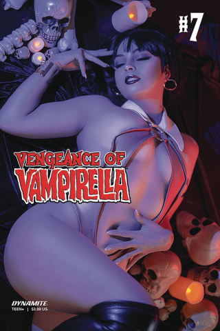 Vengeance of Vampirella #7 (Ochs Cosplay Cover)