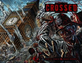 Crossed: Badlands #28 (Wrap Cover)