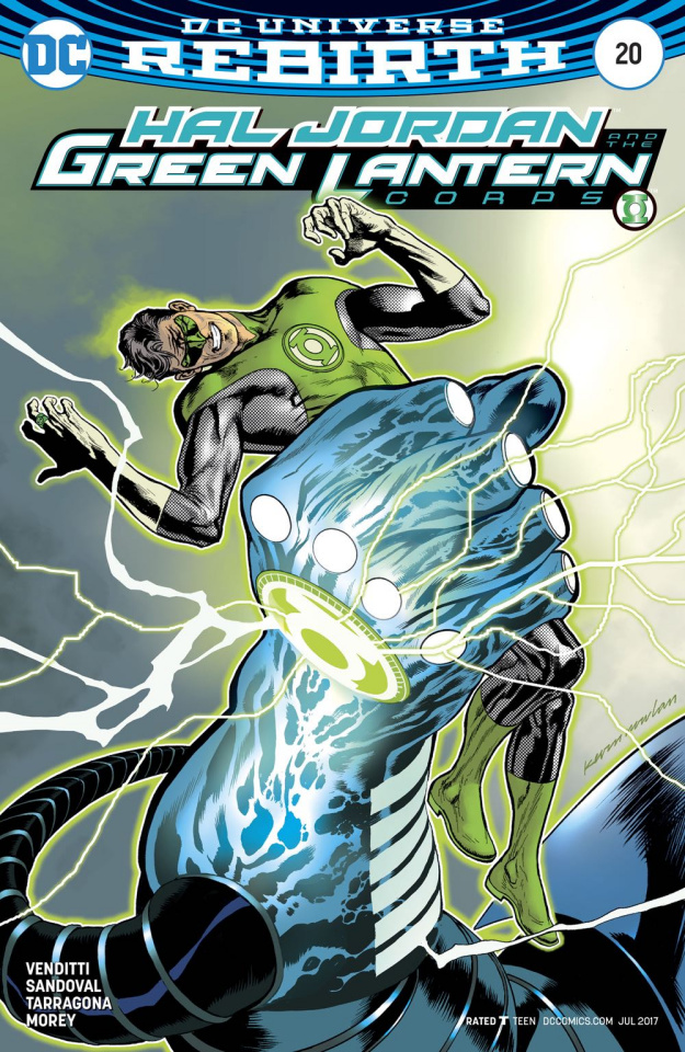 Hal Jordan and The Green Lantern Corps #20 (Variant Cover)