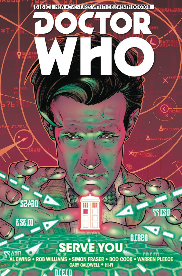 Doctor Who: New Adventures with the Eleventh Doctor Vol 02 Serve You