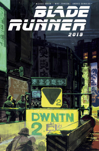 Blade Runner 2019 #8 (Mead Cover)