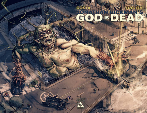 God Is Dead #7 (Carnage Wrap Cover)