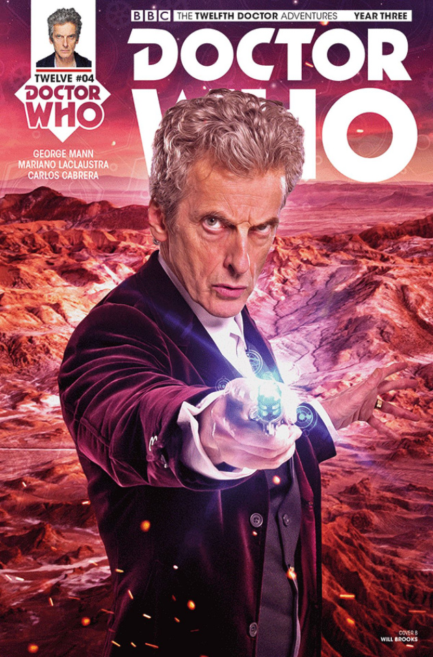 Doctor Who: New Adventures with the Twelfth Doctor, Year Three #4 (Photo Cover)