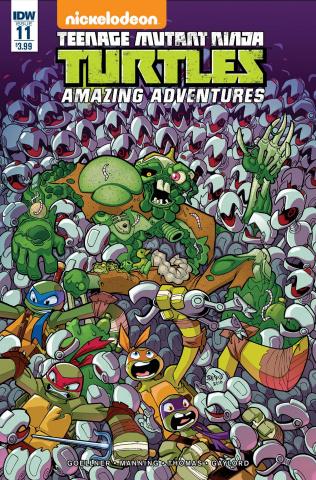 Teenage Mutant Ninja Turtles: Amazing Adventures #11