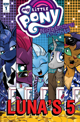My Little Pony: Nightmare Knights #1 (10 Copy Price Cover)