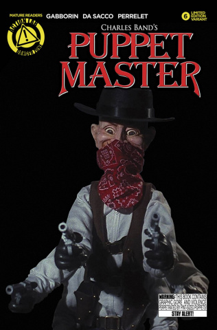Puppet Master #6 (Six Shooter Photo Cover)