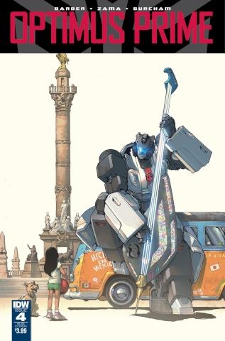 Optimus Prime #4 (Subscription Cover)