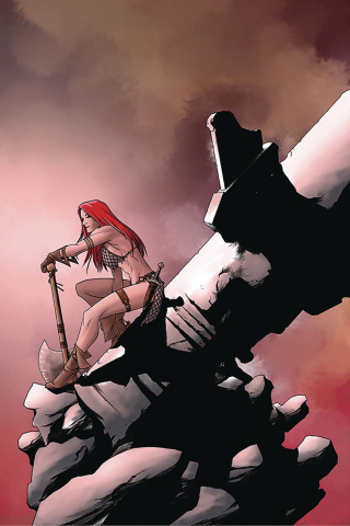 Red Sonja #24 (10 Copy McKone Virgin Cover)