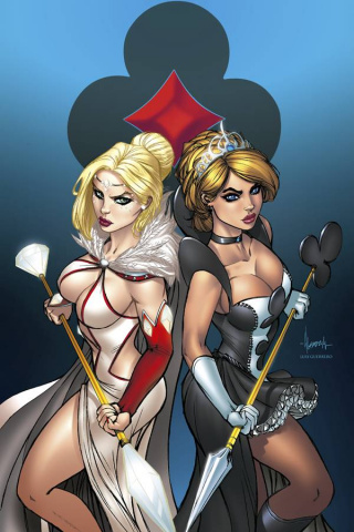 Grimm Fairy Tales: Wonderland - Clash of Queens #5 (Garza Cover)