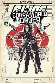 G.I. Joe: Cobra World Order Prelude (10 Copy Cover)
