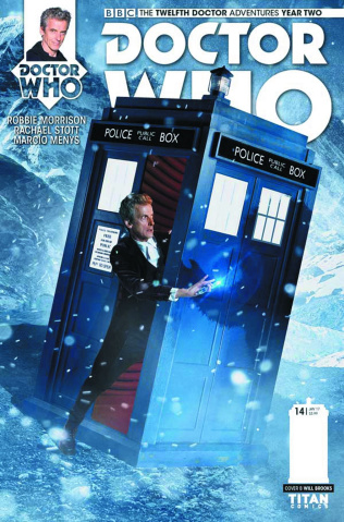 Doctor Who: New Adventures with the Twelfth Doctor, Year Two #14 (Photo Cover)