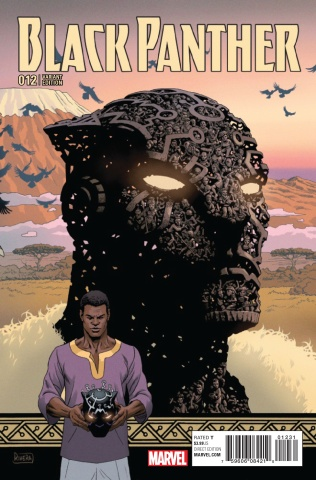 Black Panther #12 (Rivera Connecting Cover)