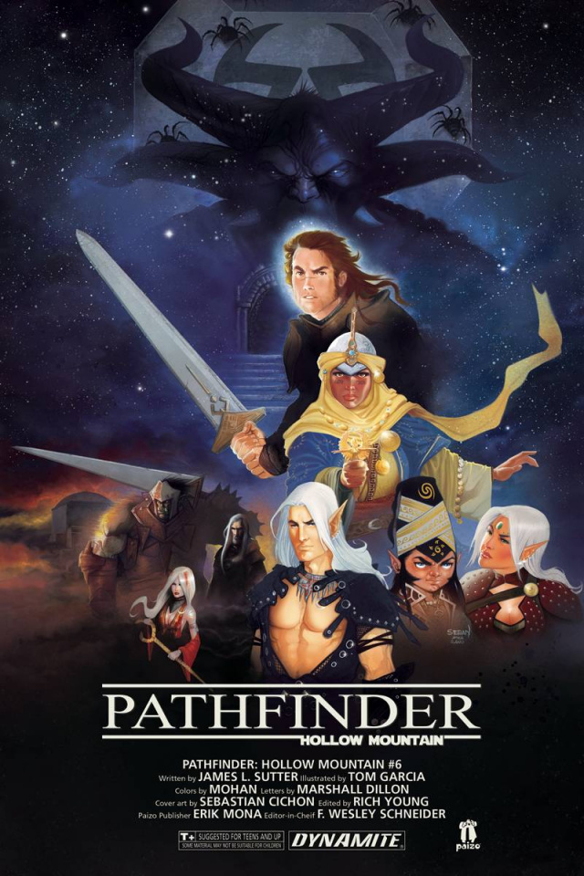 Pathfinder: Hollow Mountain #6 (Cichon Cover)
