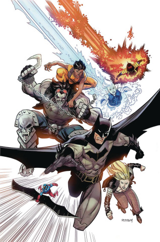 Justice League of America: Rebirth #1 (Variant Cover)