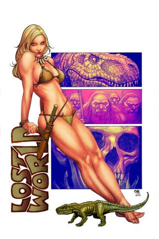 Jungle Girl, Season 3 #4 (20 Copy Virgin Cover)