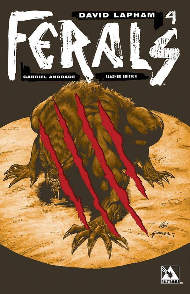 Ferals #4 (Slashed Cover)