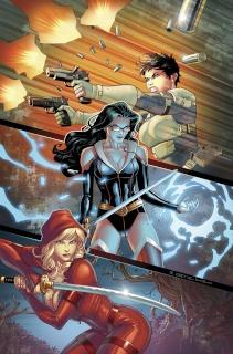 Grimm Fairy Tales: Realm War #12 (Ortiz Cover)