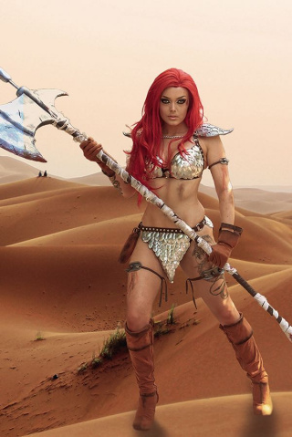 Red Sonja #24 (30 Copy Cosplay Virgin Cover)