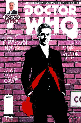 Doctor Who: New Adventures with the Twelfth Doctor #2 (Coal Hill School Cover)
