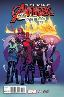 Uncanny Avengers #3 (Moore Cover)