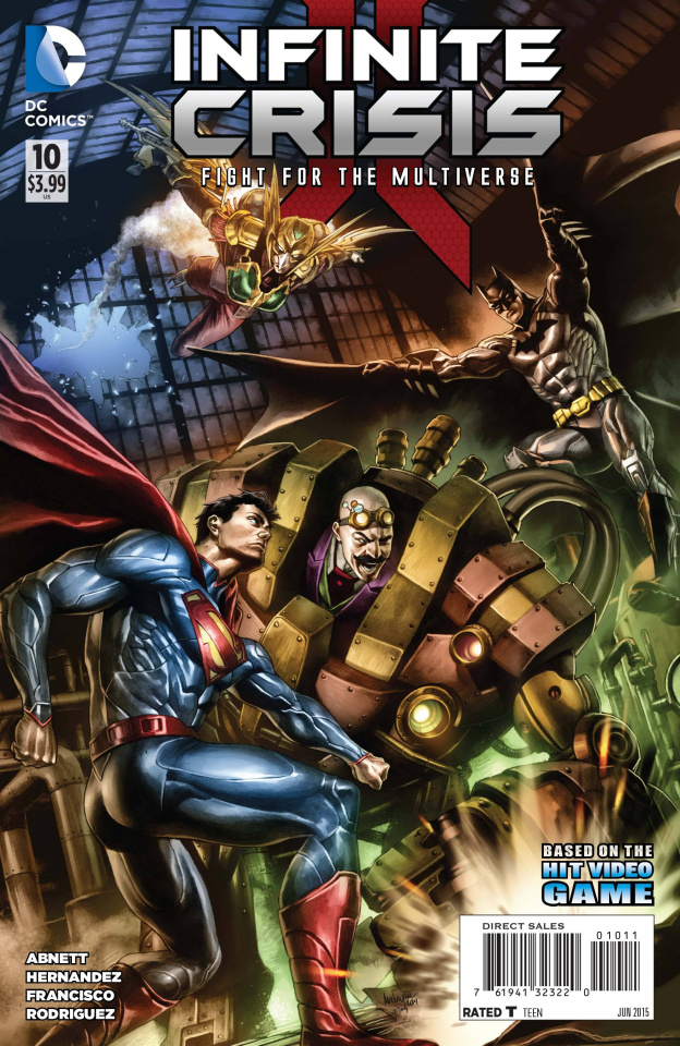 Infinite Crisis: The Fight for the Multiverse #10