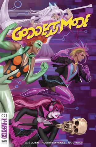Goddess Mode #1 (Variant Cover)