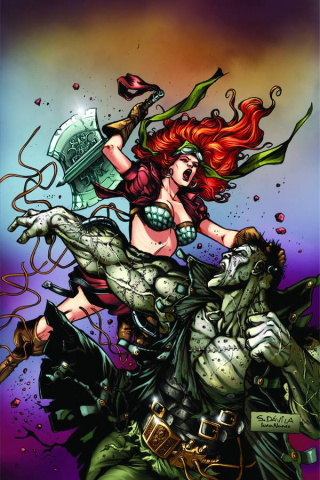 Legenderry: Red Sonja #3 (Rare Davila Virgin Cover)