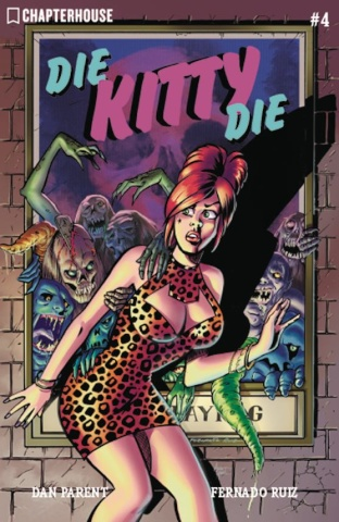 Die Kitty Die! Hollywood or Bust #4 (Ruiz Cover)