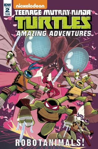 Teenage Mutant Ninja Turtles: Amazing Adventures - Robotanimals #2 (Thomas Cover)