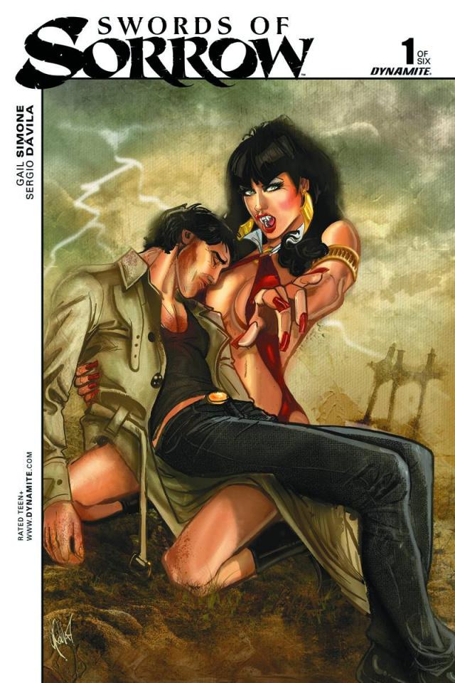 Swords of Sorrow #1 (30 Copy Poulat Unique Cover)