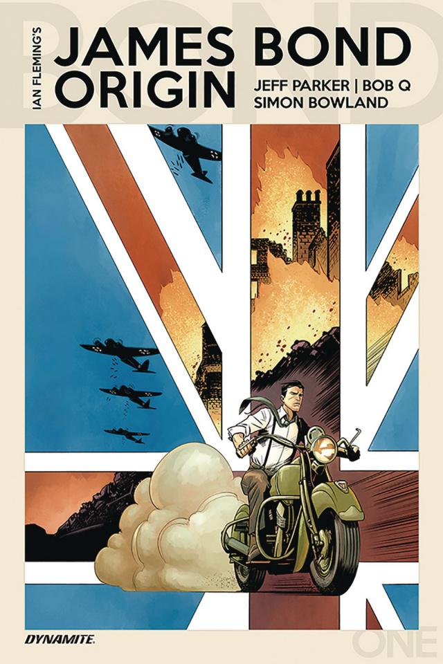 James Bond: Origin #1 (Bob Q & Boyd Cover)