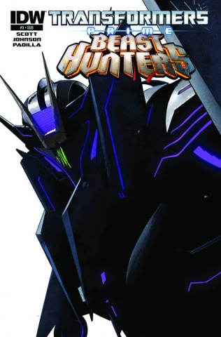 Transformers Prime: Beast Hunters #3 (Subscription Cover)