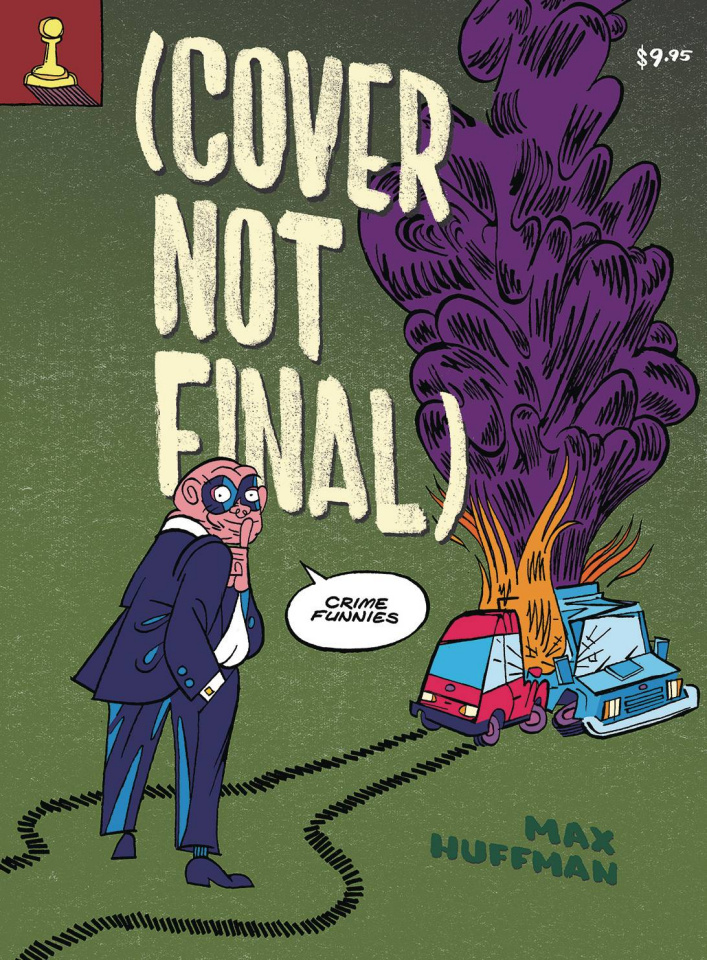 (Cover Not Final) Crime Funnies