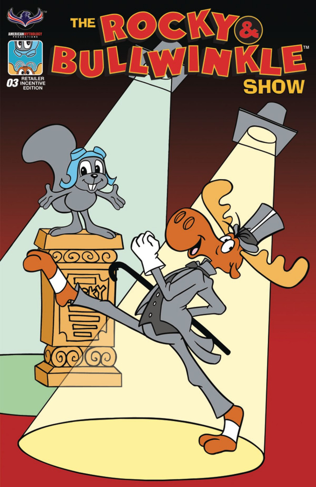 The Rocky & Bullwinkle Show #3 (Retro Animation Cover)