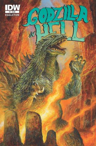Godzilla in Hell #2 (2nd Printing)